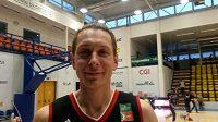 Basketbalista Luboš Stria.