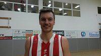 Basketbalista Pardubic Radek Nečas.