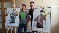 Také čerství haloví mistři Evropy Pavel Maslák (vlevo) a Jakub Holuša budou startovat na 54. ročníku mítinku Zlatá tretra v Ostravě.