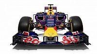 Barevné provedení monopostu Red Bull pro sezónu 2015.