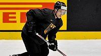 Německý reprezentant s českými kořeny Dominik Kahun se stěhuje do Pittsburghu. Na snímku v německém reprezentačním dresu.