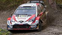Estonský jezdec Ott Tänak vyhrál Britskou rallye