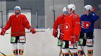 Pardubičtí hokejisté se připravují na extraligu v Polsku.