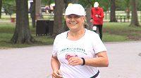 Parvaneh Moayediová je neustále v pohybu, jinak by nemohla uběhnout stovky maratónů.