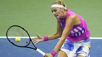 Petra Kvitová v boji o postup do dalšího kola US Open