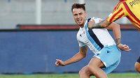 Obránce Lazia Řím Patric dostal v italské lize zákaz startu ve čtyřech zápasech za kousnutí soupeře