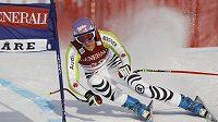 Lyžařka Maria Rieschová během závodu Světového poháru v Aare