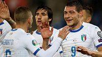 Fotbalisté Itálie si díky triumfu 5:0 nad Lichtenštejnskem připsali deváté vítězství za sebou