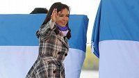 Argentinská prezidentka Cristina Fernándezová se na finále MS kvůli nemoci nepodívá.
