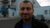 Trenér Lovosic Milan Berka.