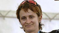 Martina Sáblíková vyhrála v Hodoníně časovku jednotlivkyň na mistrovství České republiky a Slovenska.