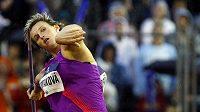 Oštěpařka Barbora Špotáková je největší českou nadějí na zlato.