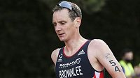 Britský triatlonista Alistair Brownlee