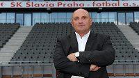 Nový generální ředitel fotbalové Slavie Jaromír Šeterle se vrací do Edenu.