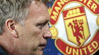 Trenér Manchesteru United David Moyes.