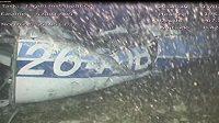 Záběry kamer z mořského dna ukazují nalezený vrak letadla, v němž cestoval argentinský fotbalista Emiliano Sala.