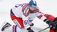 Obránce české hokejové reprezentace Adam Polášek.