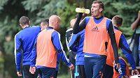 Prvoligoví fotbalisté Olomouce se připravují na novou sezónu.