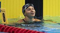 Barbora Seemanová si doplavala pro osmí místo