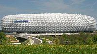 Allianz Aréna v Mnichově