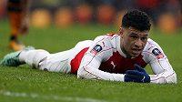 Alex Oxlade-Chamberlain jasně ilustruje rozčarování Arsenalu...