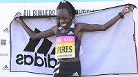 Keňanka Peres Jepchirchirová v Praze na Letné zaběhla půlmaratonský světový rekord.