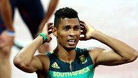 Jihoafričan Wayde Van Niekerk měl pozitivní test koronavirus
