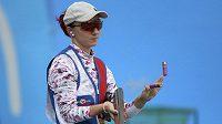 Libuše Jahodová při svém olympijském debutu do finále skeetu nepostoupila.