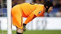 Petr Čech v brance Arsenalu