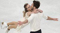 Francouzský taneční pár Gabriella Papadakisová, Guillaume Cizeron triumfoval na krasobruslařském ME ve Stockholmu.