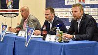 Předsezonní tisková konference extraligového hokejového klubu Vítkovice
