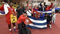 Tým Kuby se raduje z vítězství v mnoha kategoriích v 50. ročníku Grand Prix Ústí nad Labem.