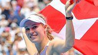 Caroline Wozniacká po svém posledním zápase kariéry