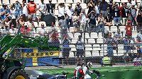 Poloprázdné tribuny se staly strašákem pořadatelů GP Německa na Hockenheimringu.