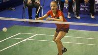 Barbora Bursová, jeden z největších talentů domácí badmintonové scény.
