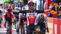 Caleb Ewan vybojoval na Tour Down Under druhé etapové vítězství