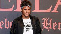 Brazilská fotbalová hvězda Neymar