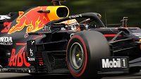 Deštivou kvalifikaci na Velkou cenu Belgie F1 vyhrál Max Verstappen z Red Bullu