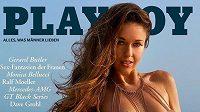 Světová šampionka ve skocích na lyžích Juliane Seyfarthová pózovala pro Playboy.