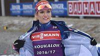 Gabriela Koukalová už trénuje na závody Světového poháru v Novém Městě na Moravě.