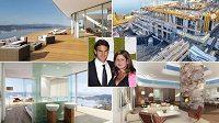 Roger Federer žije se svou rodinou v luxusním sídle na břehu Ženevského jezera.