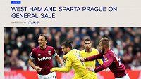 Chelsea láká fanoušky na nákup lístků na neexistující duel se spartou.