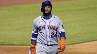 Baseballista Robinson Canó z New York Mets na snímku ze srpna.