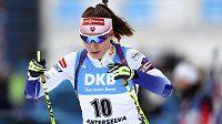 Slovenská biatlonistka Paulína Fialková se na MS v Anterselvě cenného kovu nedočkala.