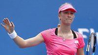 Česká tenistka Denisa Allertová na Australian Open.