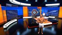 Začíná slavný pořad Match of the Day a Gary Lineker předstupuje před kamery pouze v trenkách.