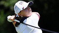 Golfistka Klára Spilková klesla po druhém kole olympijského turnaje ze sedmého na dělené 24. místo