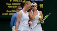 Greet Minnennová a Alison van Uytvancková tvoří pár i mimo tenisové kurty
