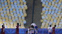 Fotbalový turnaj Copa América trápí v úvodu nižší návštěvnost. Výjimkou nebyl ani duel Paraguaye s Katarem.