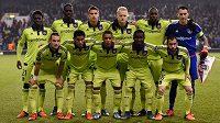 Fotbalisté Anderlechtu Brusel před posledním zápasem s Tottenhamem.